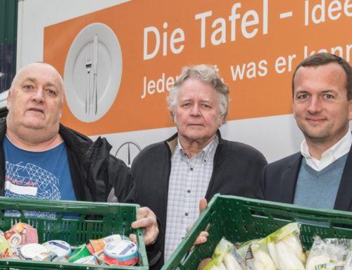 PR-Agentur Sputnik unterstützt Münster-Tafel e. V. mit Spende