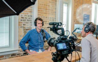 Interview mit Presse